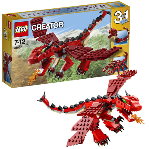Криэйтор Огнедышащий дракон  Lego (Лего)