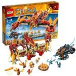 Легенды Чимы Огненный летающий Храм Фениксов  Lego (Лего)