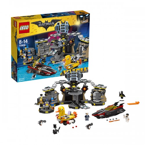 LEGO BATMAN MOVIE 70909 Нападение на Бэтпещеру