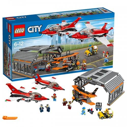 LEGO CITY 60103 Авиашоу Лего