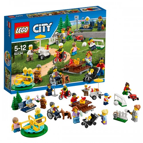 LEGO CITY 60134 Праздник в парке — жители LEGO City