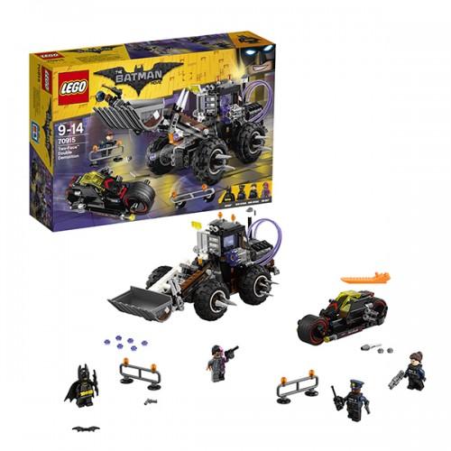 ЛЕГО Фильм: Бэтмен Разрушительное нападение Двуликого Lego Лего