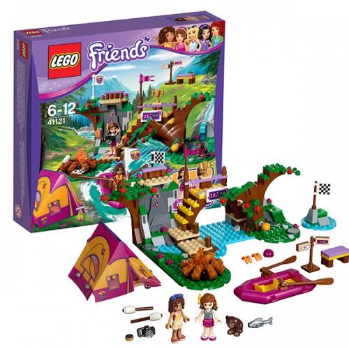 """LEGO FRIENDS 41121 Конструктор """"Спортивный лагерь: сплав по реке"""""""