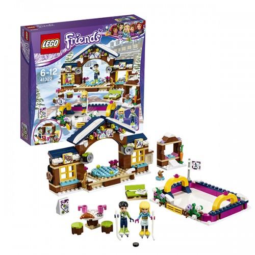 LEGO FRIENDS cГорнолыжный курорт: каток