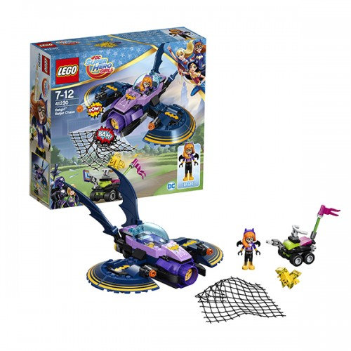 LEGO HERO GIRLS 41230 Бэтгёрл: погоня на реактивном самолёте