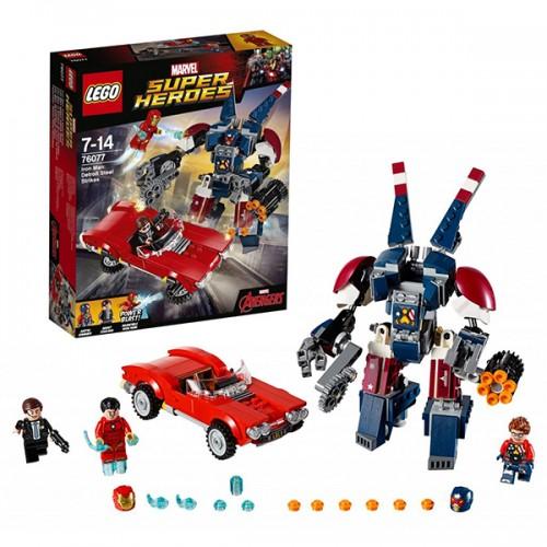 LEGO SUPER HEROES 76077 Железный человек: Стальной Детройт наносит удар