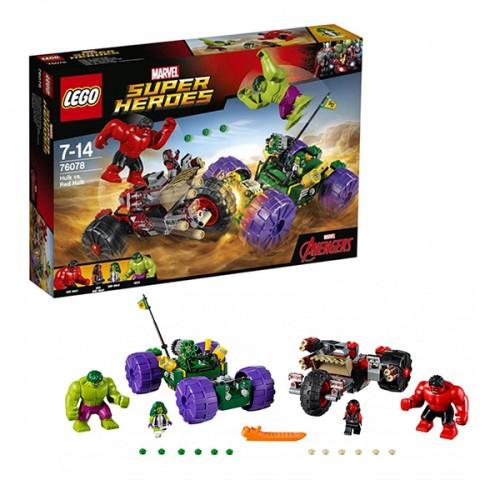 LEGO SUPER HEROES 76078 Халк против Красного Халка