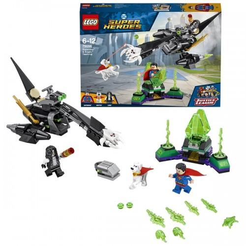 LEGO SUPER HERОES 76096 Супермен и Крипто объединяют усилия