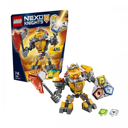 Нексо Боевые доспехи Акселя Lego Лего