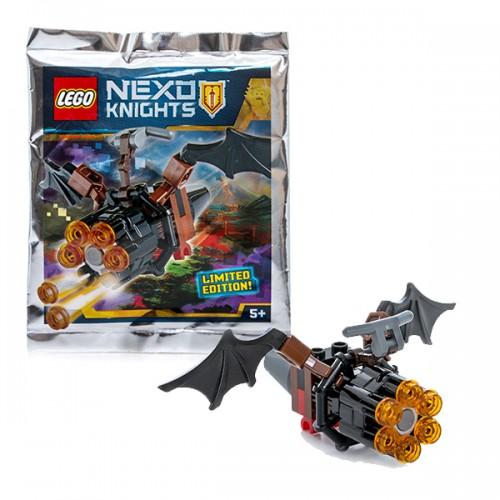 НЕКСО Летучая мышь с оружием Lego Лего