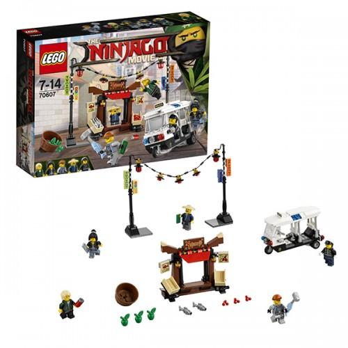 Ниндзяго Ограбление киоска в НИНДЗЯГО Сити Lego Лего