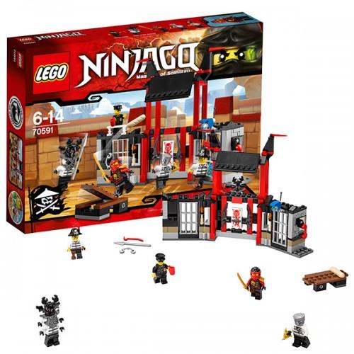Ниндзяго Побег из тюрьмы Криптариум  Lego (Лего)