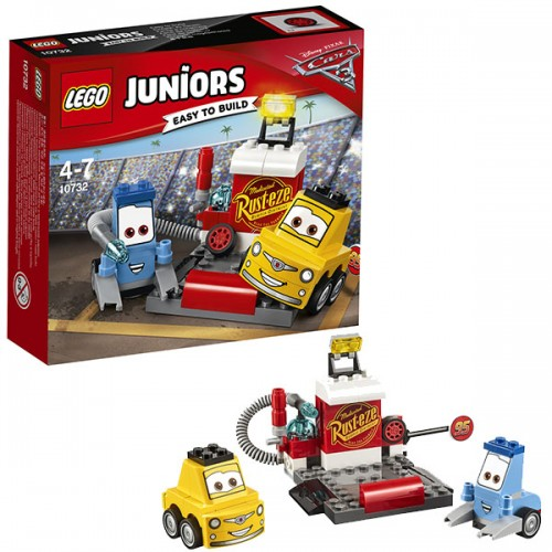 Пит-стоп Гвидо и Луиджи Lego (Лего)