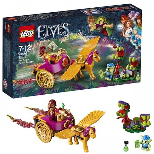 Побег Азари из леса гоблинов Lego (Лего)