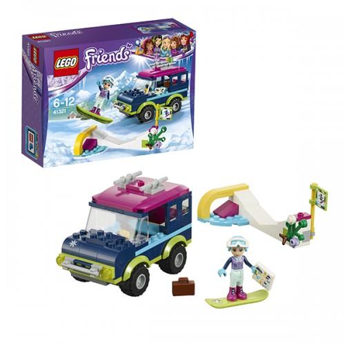 Подружки Горнолыжный курорт: внедорожник Lego Лего