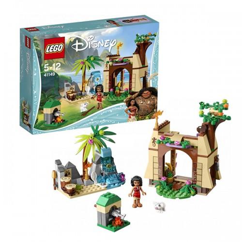 Принцессы Дисней Приключения Моаны на затерянном острове Lego Лего