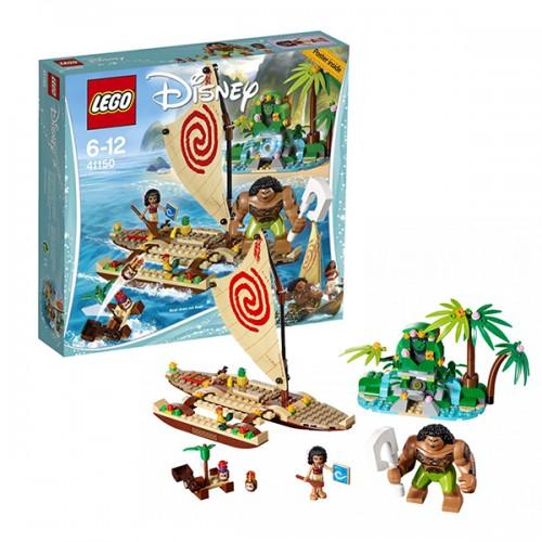 Принцессы Дисней Путешествие Моаны через океан Lego Лего