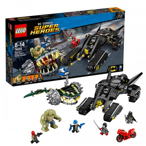 Супер Герои Бэтмен: Убийца Крок  Lego (Лего)