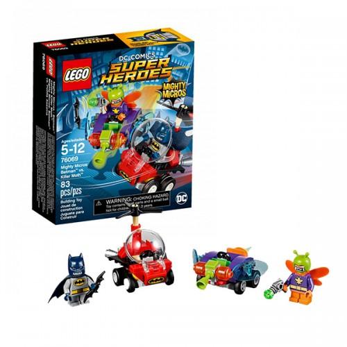 Супер Герои Mighty Micros: Бэтмен против Мотылька-убийцы Lego Лего