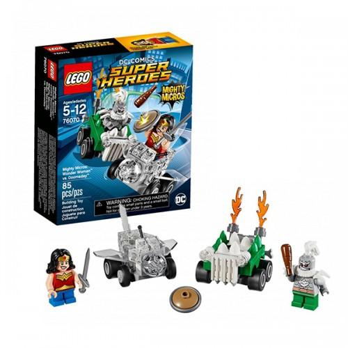 Супер Герои Mighty Micros: Чудо-женщина против Думсдэя Lego Лего