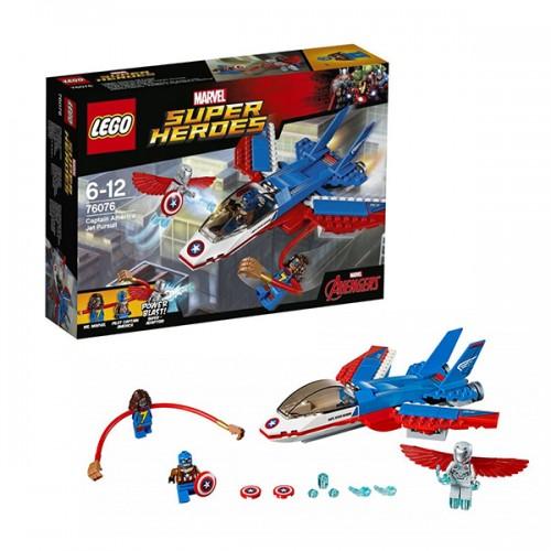 Супер Герои Воздушная погоня Капитана Америка Lego Лего