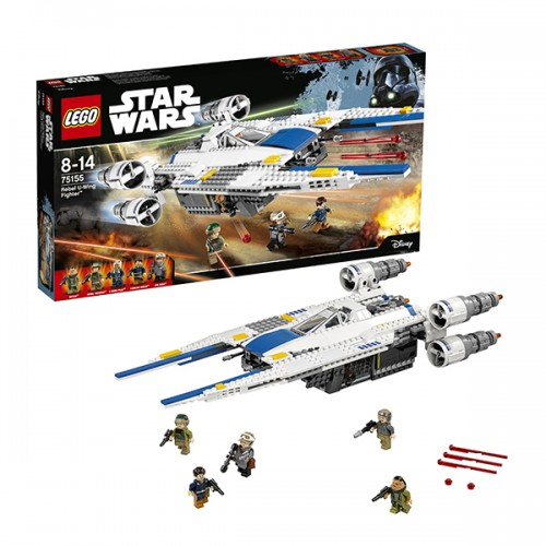 Звездные войны Истребитель Повстанцев U-Wing  Lego (Лего)