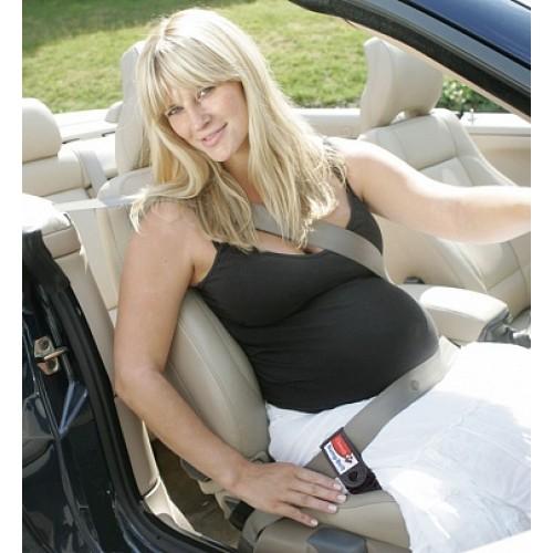Автомобильный ремень для беременных, черный Клипсейф