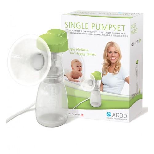 Дополнительный набор для подключения к электронному молокоотсосу – одинарный SINGLE PUMPSET Ardo (Ардо)
