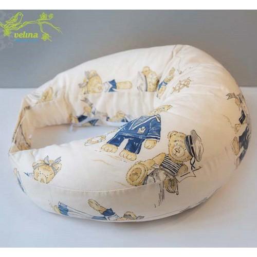 """Подушка для беременных и кормления """"Мишки"""" Velina"""