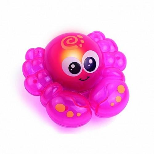 Игрушка для ванной со световыми эффектами (крабик) Hap-p-Kid 4318T