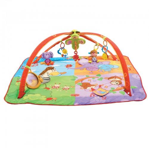 "Развивающий коврик Maxi  ""Разноцветное Сафари"" Tiny Love 1201806830"