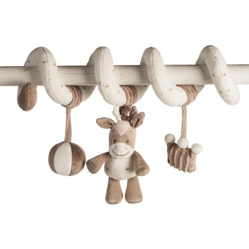 Мягкая игрушка Max, Noa Tom Toy Spiral Лошадка 777278 Nattou