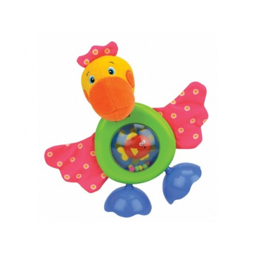 "Развивающая игрушка ""Прогулка Пеликана"" (звук, безопасное зеркало) KS Kids KA546"