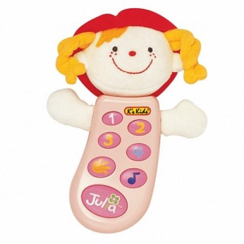 Музыкальный телефон с записью Джулия в руссифицированной упаковке KS Kids KA301PB