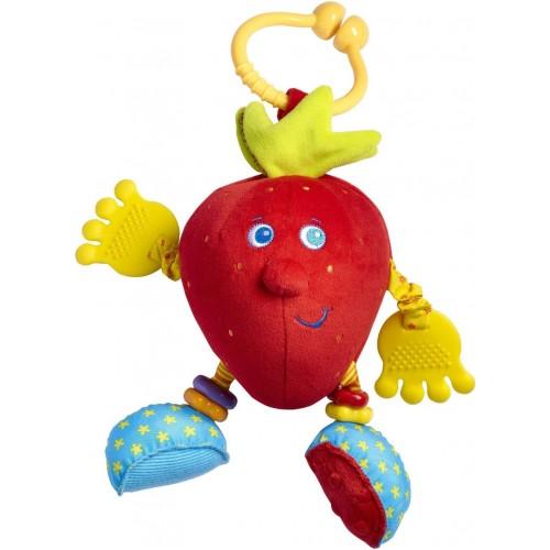 Развивающая игрушка клубничка Салли, серия Друзья фрукты Tiny Love 1106500046