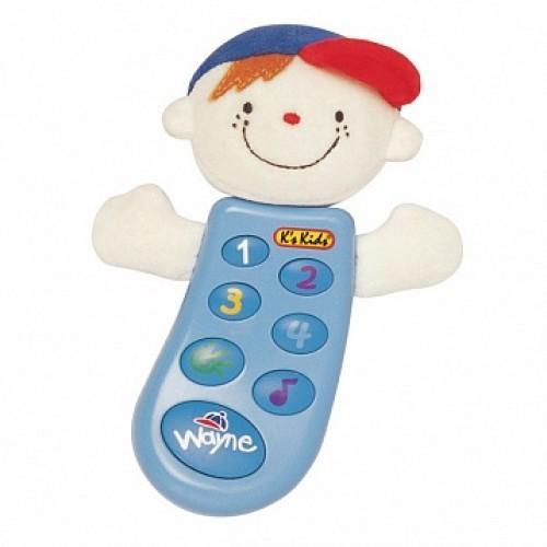 Музыкальный телефон с записью Уэйн в руссифицированной упаковке KS Kids KA300PB
