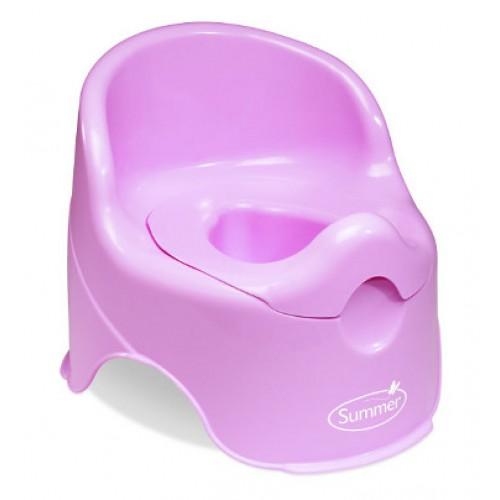 Детский горшок Lil Loo, розовый Summer Infant