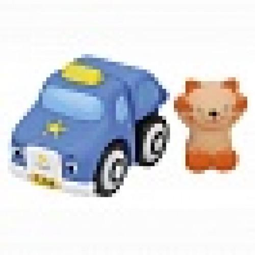 Мягкий конструктор: Полицейская машина и Мими KS Kids KA645