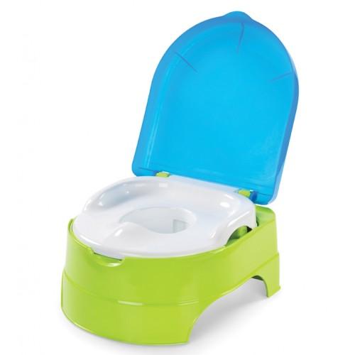 Горшок-подножка (2 в 1) My Fun Potty, салатово-голубой Summer Infant