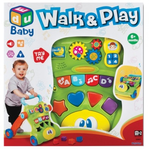 Гуляй и Играй (развивающая игрушка со звуковым эффектом) Keenway 33001