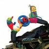 Гусеница, руль и мобильный телефон на креплении KS Kids KA444
