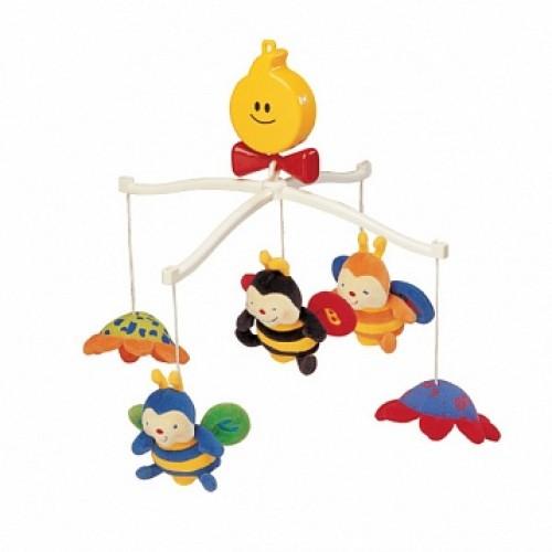 Крутящиеся музыкальные игрушки: Пчелки KS Kids KA322