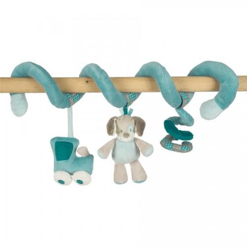 Мягкая игрушка Gaston Cyril Toy Spiral Лошадка и Собачка 531214 Nattou