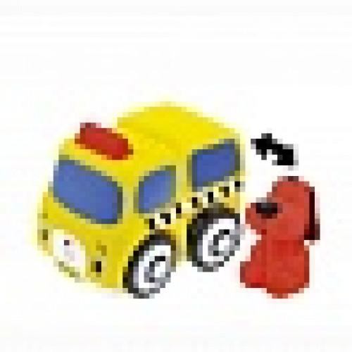 Мягкий конструктор: Школьный автобус и Патрик KS Kids KA648