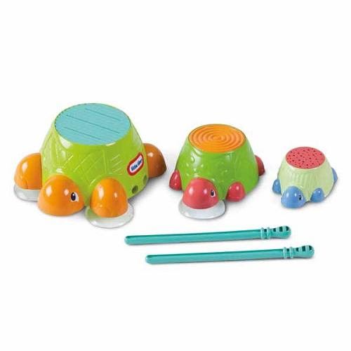 Игрушка для ванны Черепашки-барабаны Little Tikes