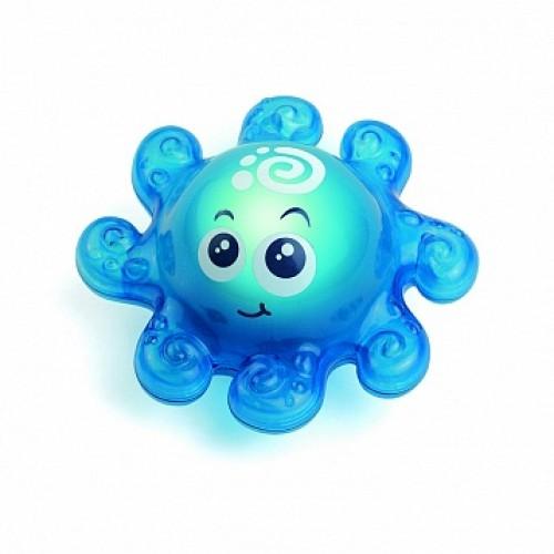 Игрушка для ванной со световым эффектом (осьминожек) Hap-p-Kid 4319