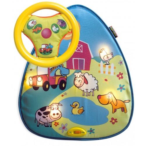 Интерактивная игра для использования в автомобиле Ферма (свет, музыка) Tiny Love 4403002