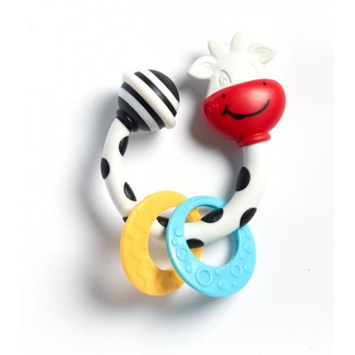 Погремушка-прорезыватель коровка Марта Tiny Love 1110500458