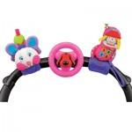 Набор развивающих игрушек для коляски: гусеничка, руль, телефон KS Kids