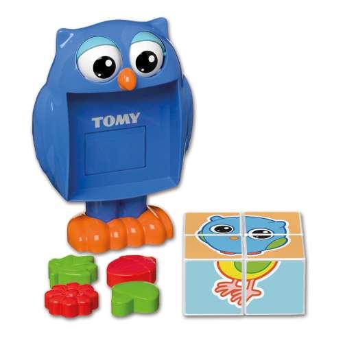 Игровой набор «Кубики-загадки от профессора Совы» Tomy